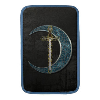 Celtic Moon And Sword Sleeves For iPads
