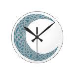 Celtic Moon clock