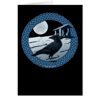 Celtic Moon, Raven and Dolman Cards