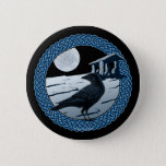 Celtic Moon, Raven and Dolman Pins and Buttons