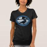 Celtic Moon, Raven and Dolman Women's T-Shirts