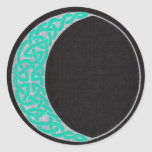 Celtic Moon stickers