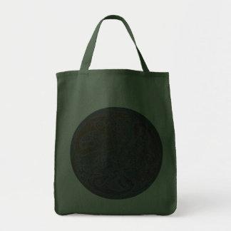 Celtic motive of dogs celtic theme dogs bags