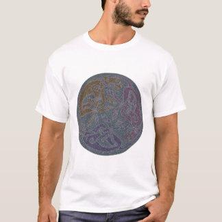 Celtic motive of dogs celtic theme dogs T-Shirt