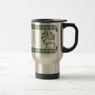 Celtic Mug, Herne Deer Design #2 Travel Mug