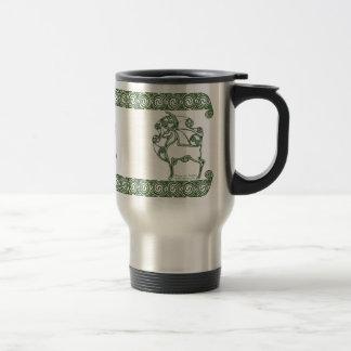 Celtic Mug, Herne Deer Design #2 Travel Mug