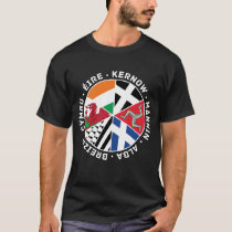 Celtic Nations Countries Flags Men's Tee Shirt