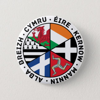 Celtic Nations Flags Button