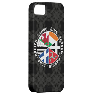 Celtic Nations Flags iPhone SE/5/5s Case