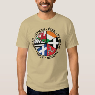 Celtic Nations Flags T Shirt
