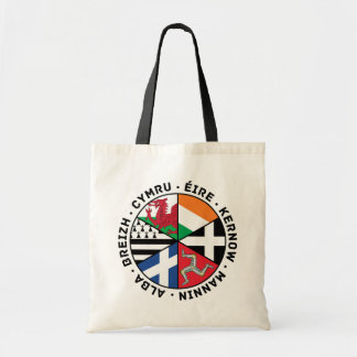 Celtic Nations Flags Tote Bag