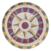 Celtic Nautical Compass Dinner Plate
