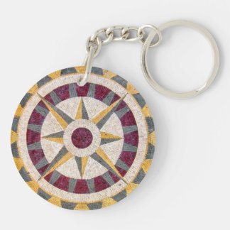 Celtic Nautical Compass Keychain