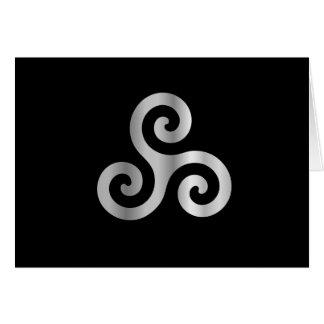 Celtic Neopaganism triple spiral triskelion.jpg Card