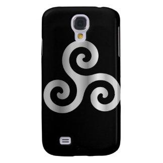 Celtic Neopaganism triskelion.jpg espiral triple Funda Para Galaxy S4