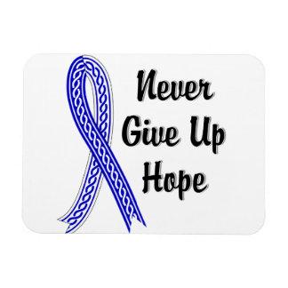 Celtic Never Give Up Hope ALS Rectangular Photo Magnet