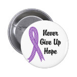 Celtic Never Give Up Hope Alzheimer's Disease Pinback Buttons