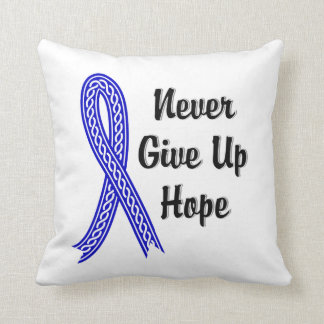 Celtic Never Give Up Hope Anal Cancer Pillows