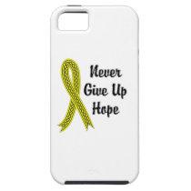 Celtic Never Give Up Hope Bladder Cancer iPhone SE/5/5s Case