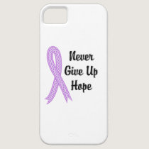 Celtic Never Give Up Hope Cancer (General) iPhone SE/5/5s Case