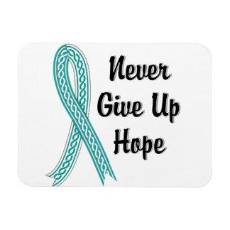 Celtic Never Give Up Hope Cervical Cancer Magnet