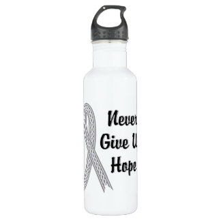 Celtic Never Give Up Hope Juvenile Diabetes Stainless Steel Water Bottle