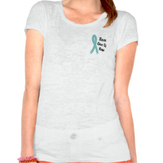 Celtic Never Give Up Hope Peritoneal Cancer T Shirt