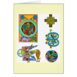 Celtic Notes Stationery Note Card