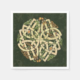 Celtic Ornament Paper Napkin
