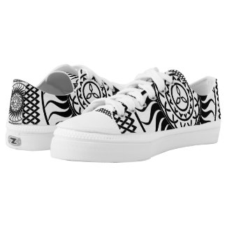 Celtic ornament Single Low-Top Sneakers