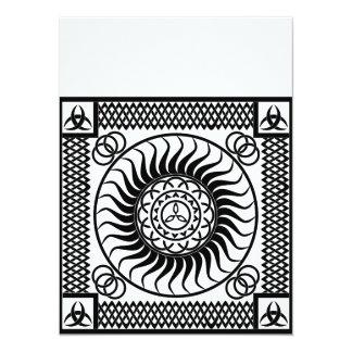 Celtic ornamentation card