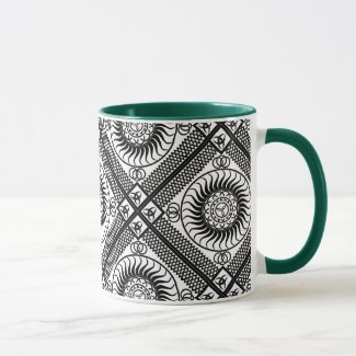 Celtic ornamentation mug