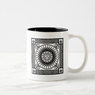 Celtic ornamentation<br/ >Two-Tone Coffee Mug