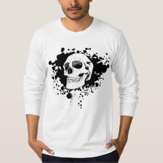 Celtic Owl celestial skull T-Shirt