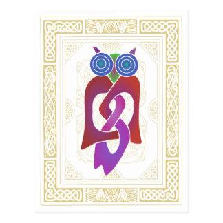 Celtic Owl II Postcard