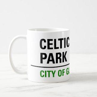 Celtic Park Street Sign Coffee Mug