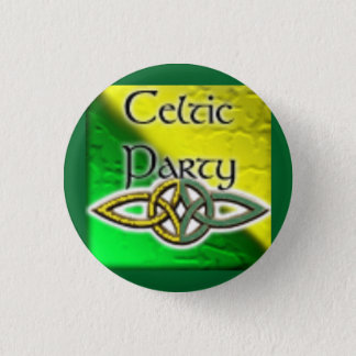 Celtic Party Logo Pinback Button