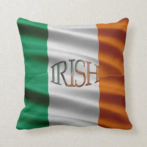 Celtic patriótico Irlanda de la bandera irlandesa Cojín