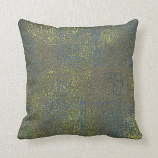Celtic Patterned Throw Pillow -IX