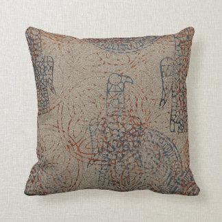 Celtic Patterned Throw Pillow -V