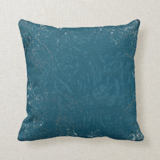 Celtic Patterned Throw Pillow -X