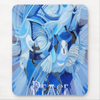 Celtic Peace Dove Greeting Card Mouse Pad