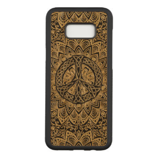 Celtic Peace Sign Mandala Carved Samsung Galaxy S8  Case