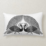 Celtic Peacocks Color your Own Pillow
