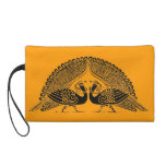 Celtic Peacocks Wristlet