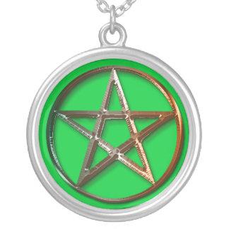 Celtic Pentacle Pagan Symbol Pendant