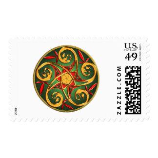 Celtic Pentacle Postage
