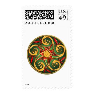 Celtic Pentacle Postage Stamps