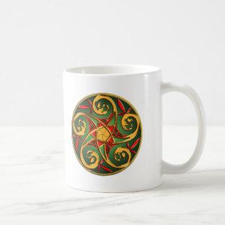 Celtic Pentacle Spiral Coffee Mug