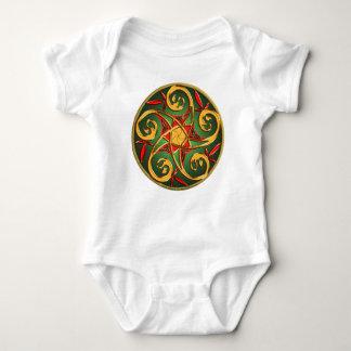 Celtic Pentacle Spiral Infant Tee Shirts